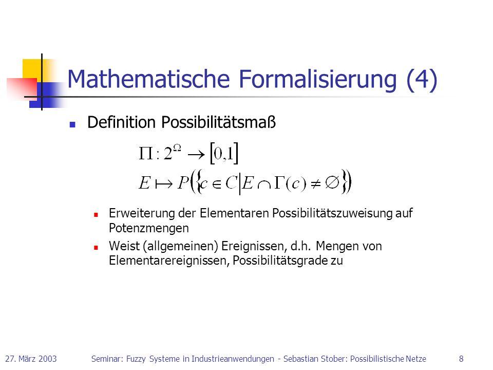 Mathematische Formalisierung (4)