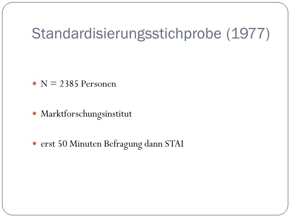 Standardisierungsstichprobe (1977)