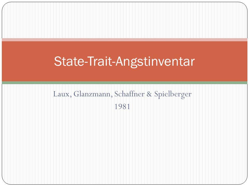 State-Trait-Angstinventar