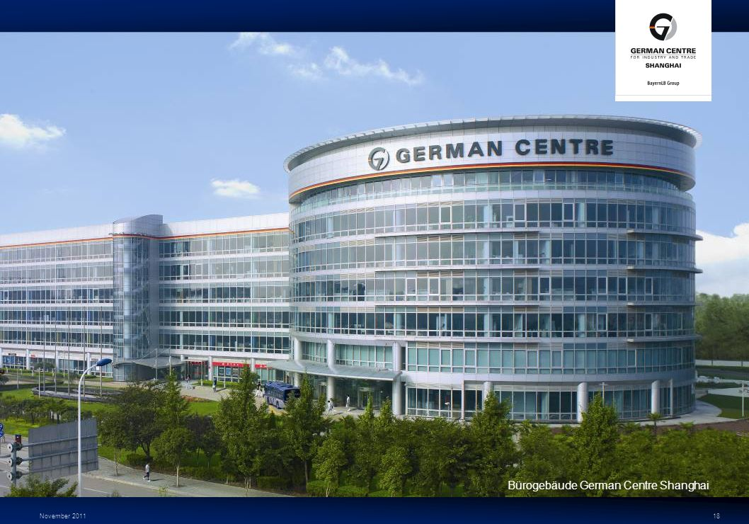 Bürogebäude German Centre Shanghai