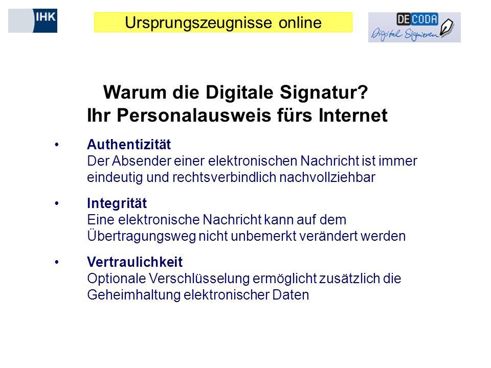 Warum die Digitale Signatur Ihr Personalausweis fürs Internet