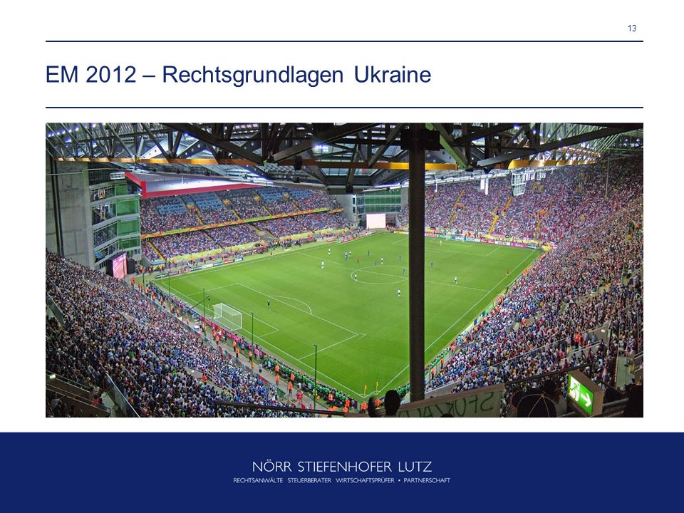 EM 2012 – Rechtsgrundlagen Ukraine