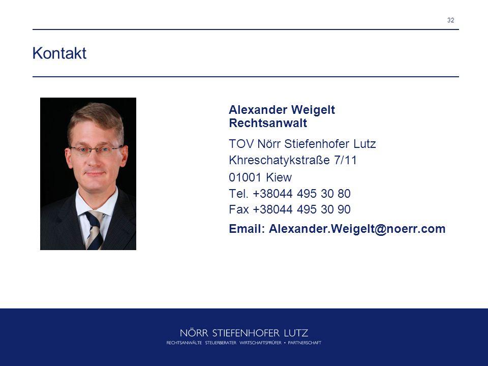Kontakt Alexander Weigelt Rechtsanwalt