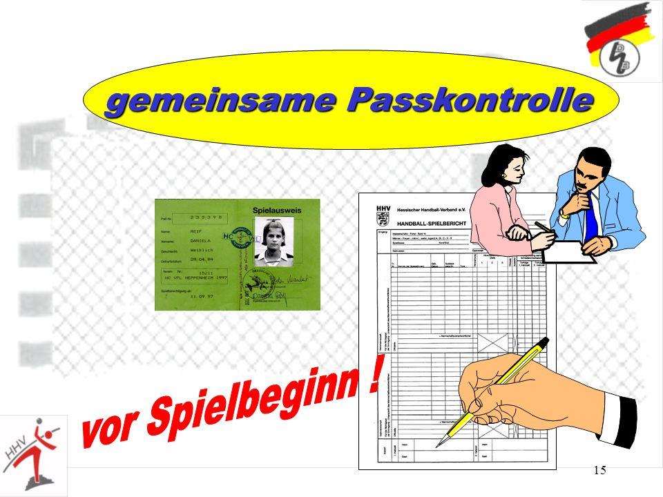 gemeinsame Passkontrolle