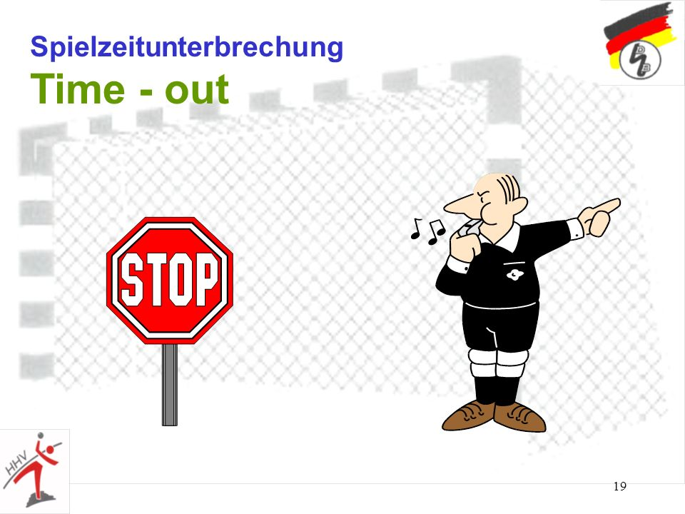 Spielzeitunterbrechung Time - out