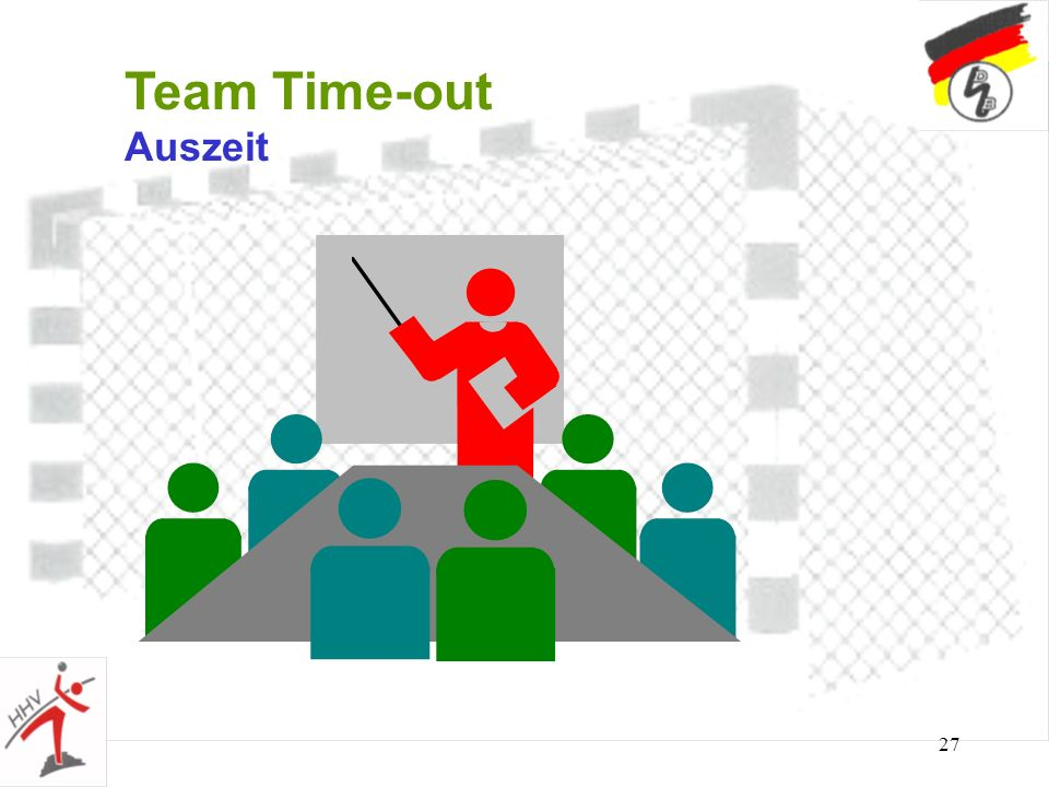 Team Time-out Auszeit