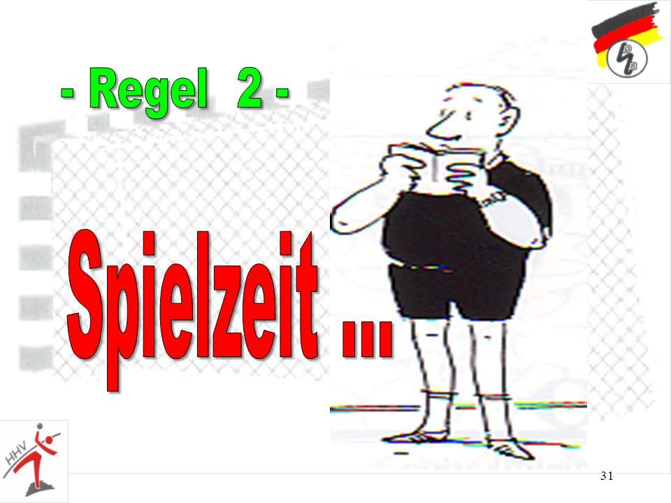 - Regel 2 - Spielzeit ...