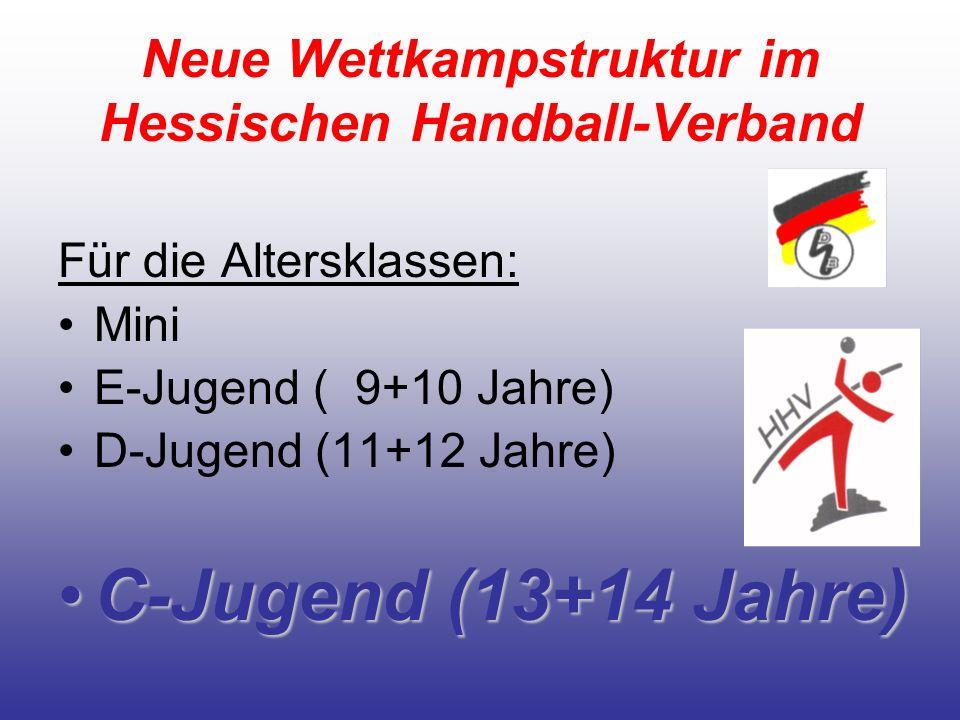 Neue Wettkampstruktur im Hessischen Handball-Verband