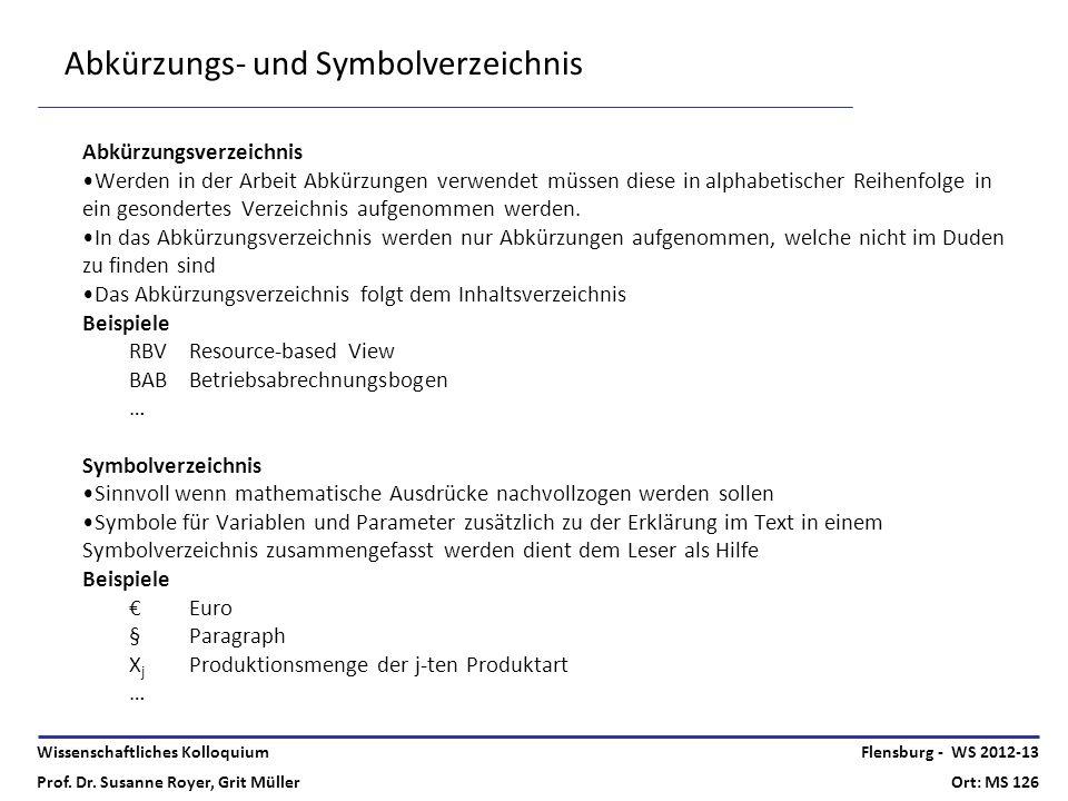 Abkürzungs- und Symbolverzeichnis