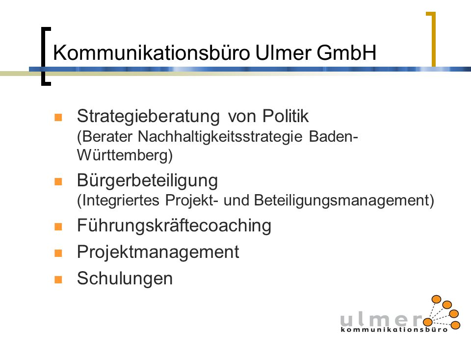 Kommunikationsbüro Ulmer GmbH