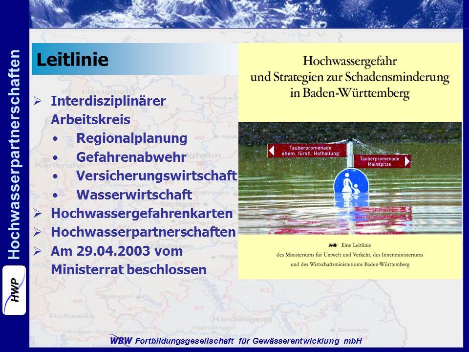 Leitlinie Interdisziplinärer Arbeitskreis Regionalplanung