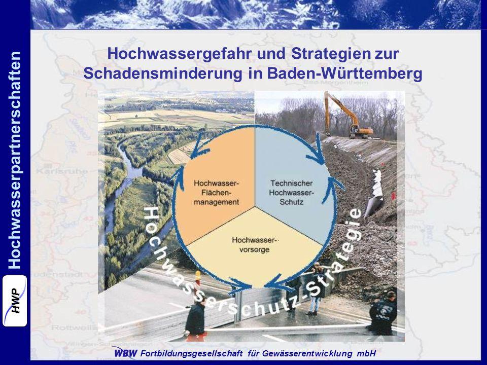 Hochwassergefahr und Strategien zur Schadensminderung in Baden-Württemberg