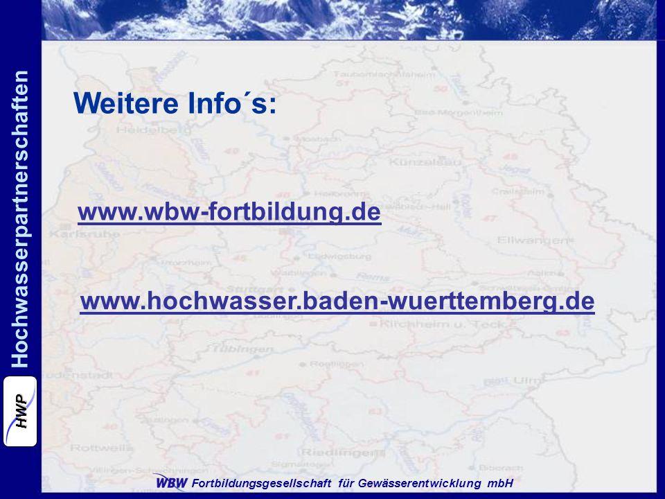 Weitere Info´s: www.wbw-fortbildung.de