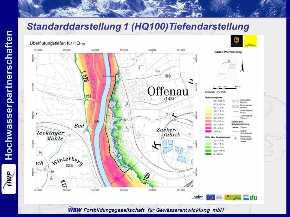 Standarddarstellung 1 (HQ100)Tiefendarstellung