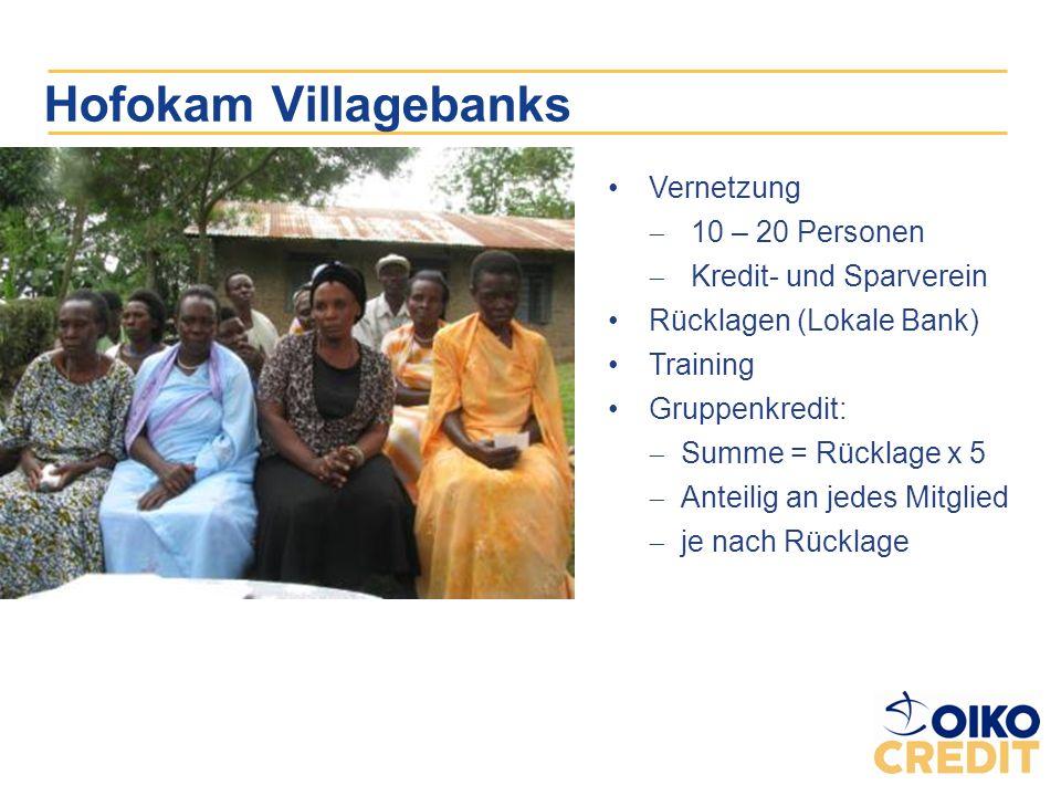 Hofokam Villagebanks Vernetzung 10 – 20 Personen