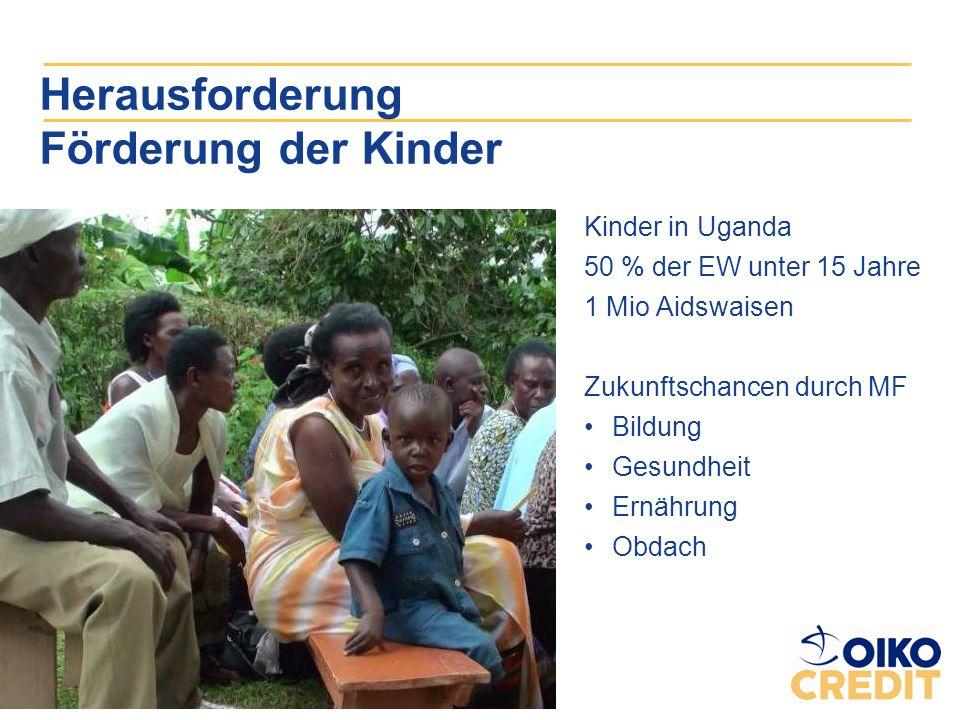 Herausforderung Förderung der Kinder