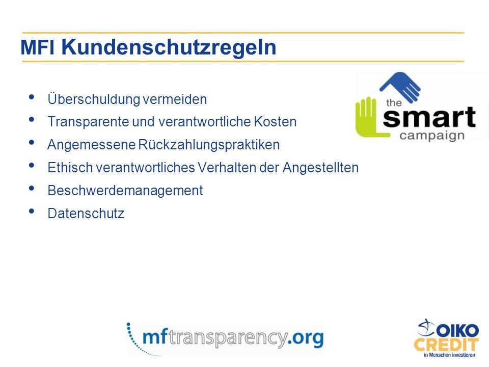 MFI Kundenschutzregeln