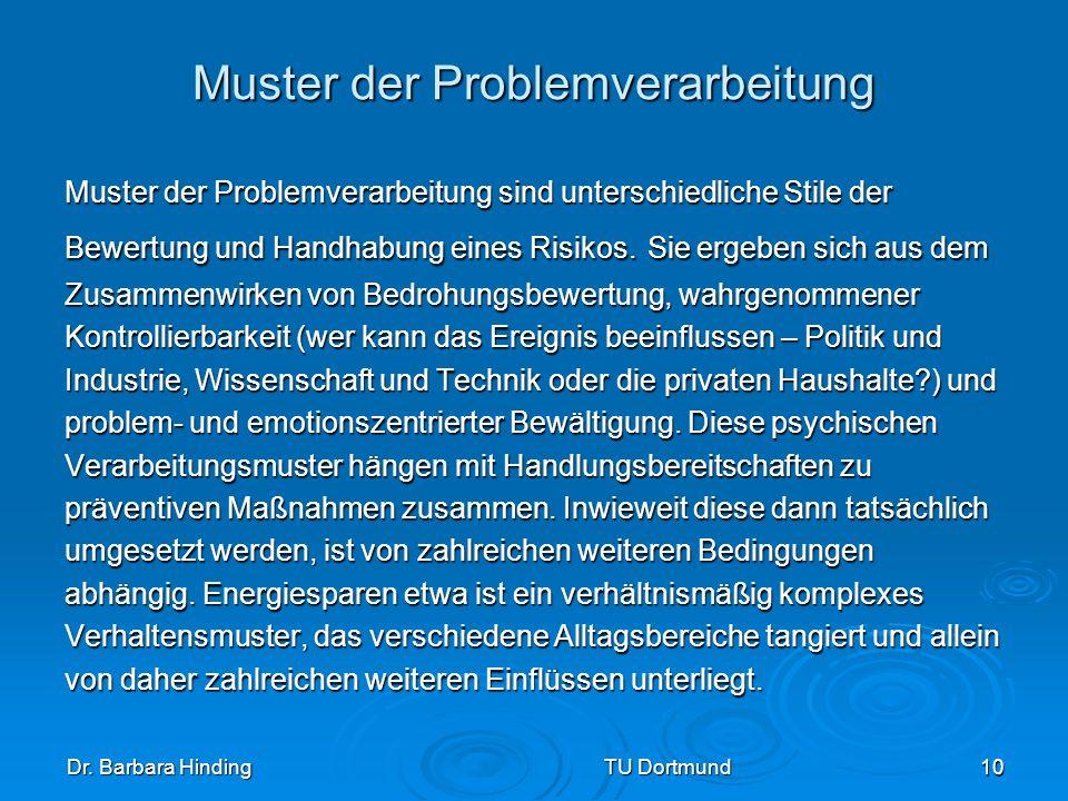 Muster der Problemverarbeitung