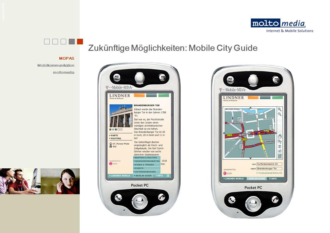 Zukünftige Möglichkeiten: Mobile City Guide