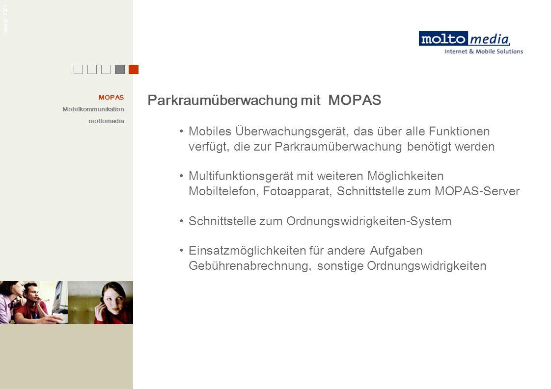 Parkraumüberwachung mit MOPAS
