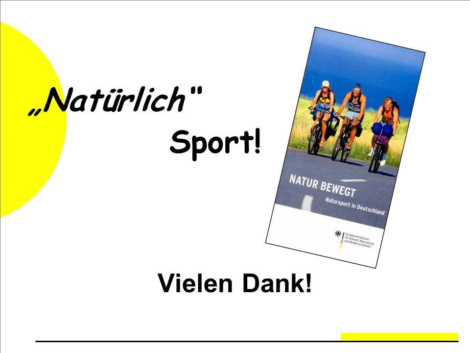 """""""Natürlich Sport! Vielen Dank!"""