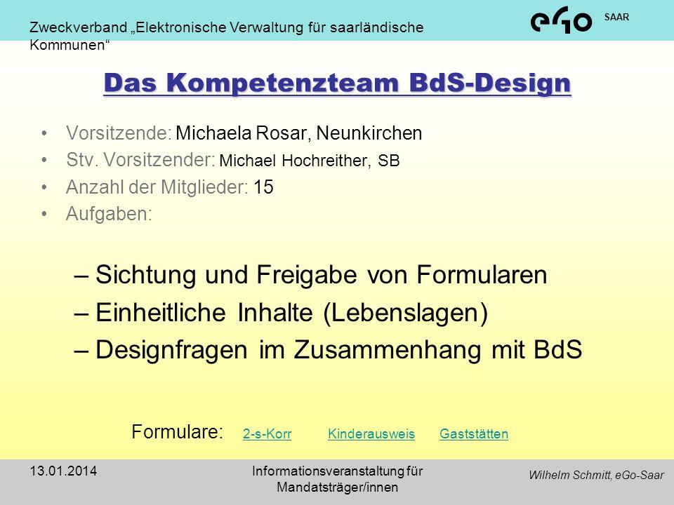 Das Kompetenzteam BdS-Design