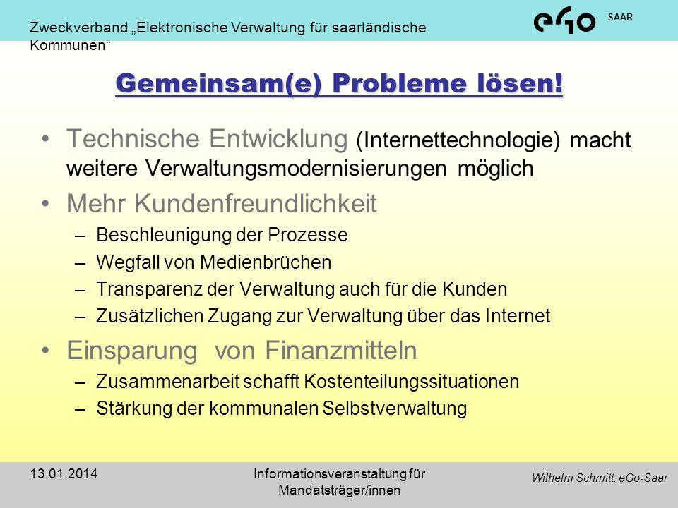 Gemeinsam(e) Probleme lösen!