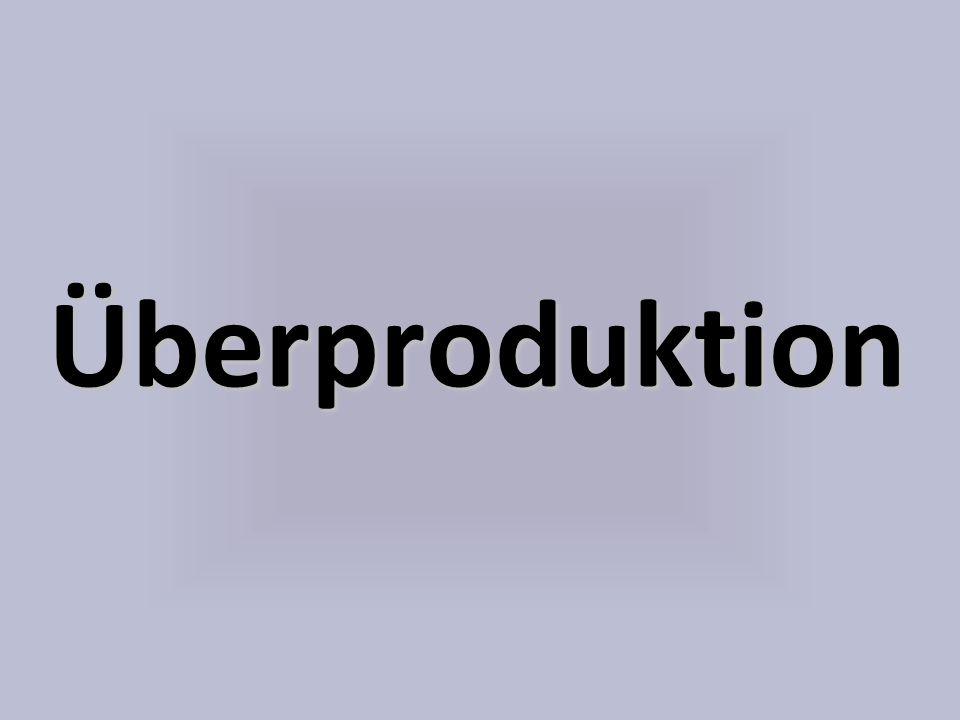 Überproduktion