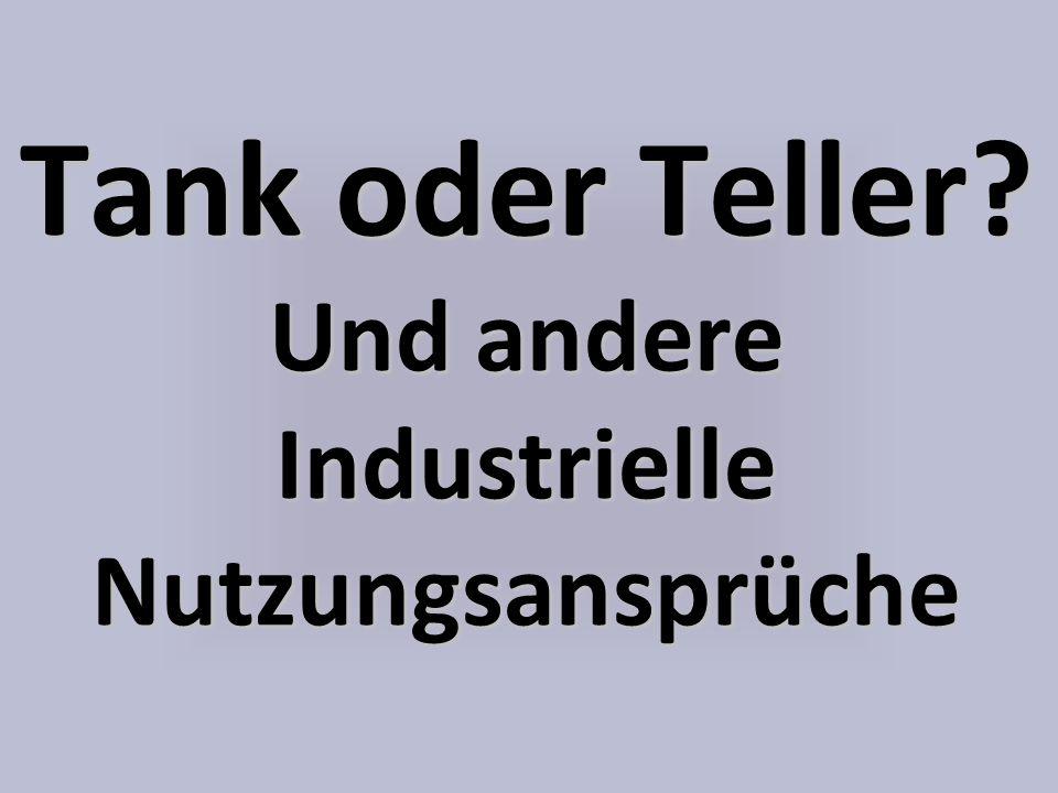 Tank oder Teller Und andere Industrielle Nutzungsansprüche