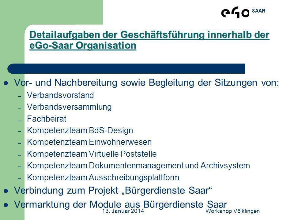 Vor- und Nachbereitung sowie Begleitung der Sitzungen von: