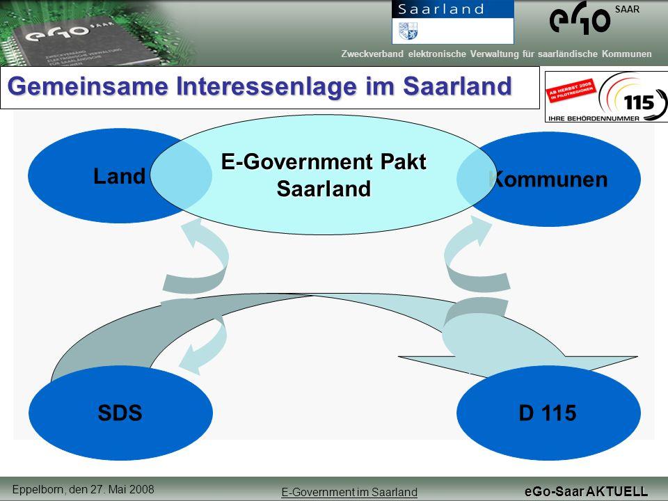 Gemeinsame Interessenlage im Saarland