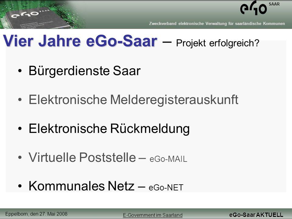Vier Jahre eGo-Saar – Projekt erfolgreich
