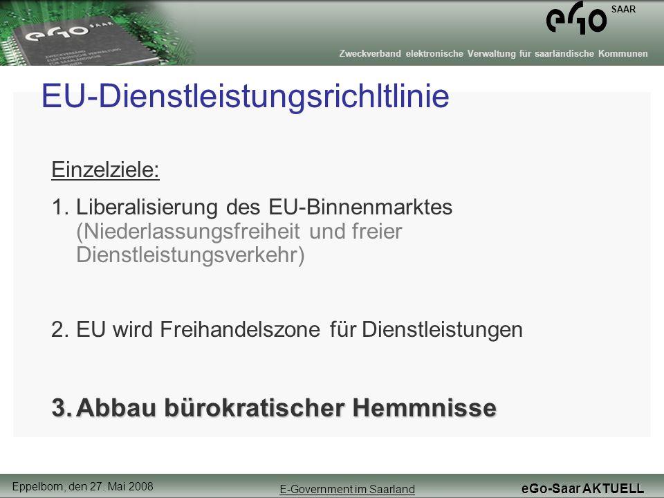 EU-Dienstleistungsrichltlinie
