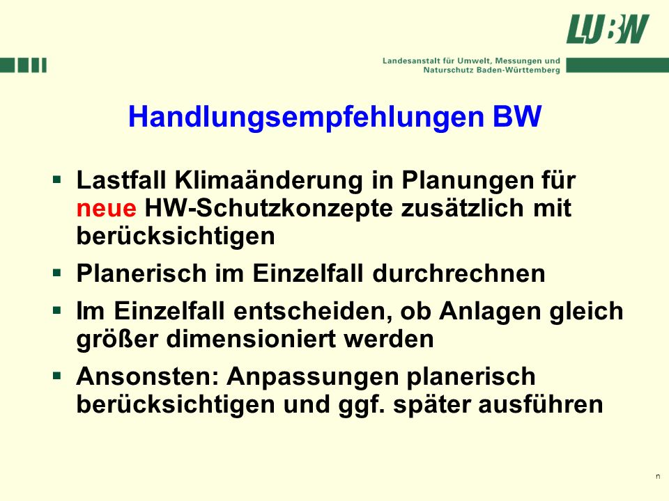 Handlungsempfehlungen BW