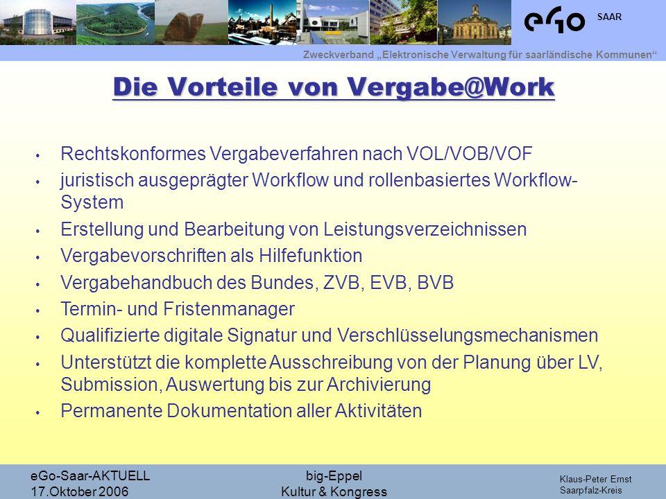 Die Vorteile von Vergabe@Work