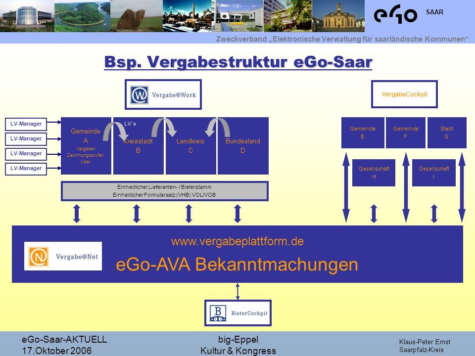 Bsp. Vergabestruktur eGo-Saar