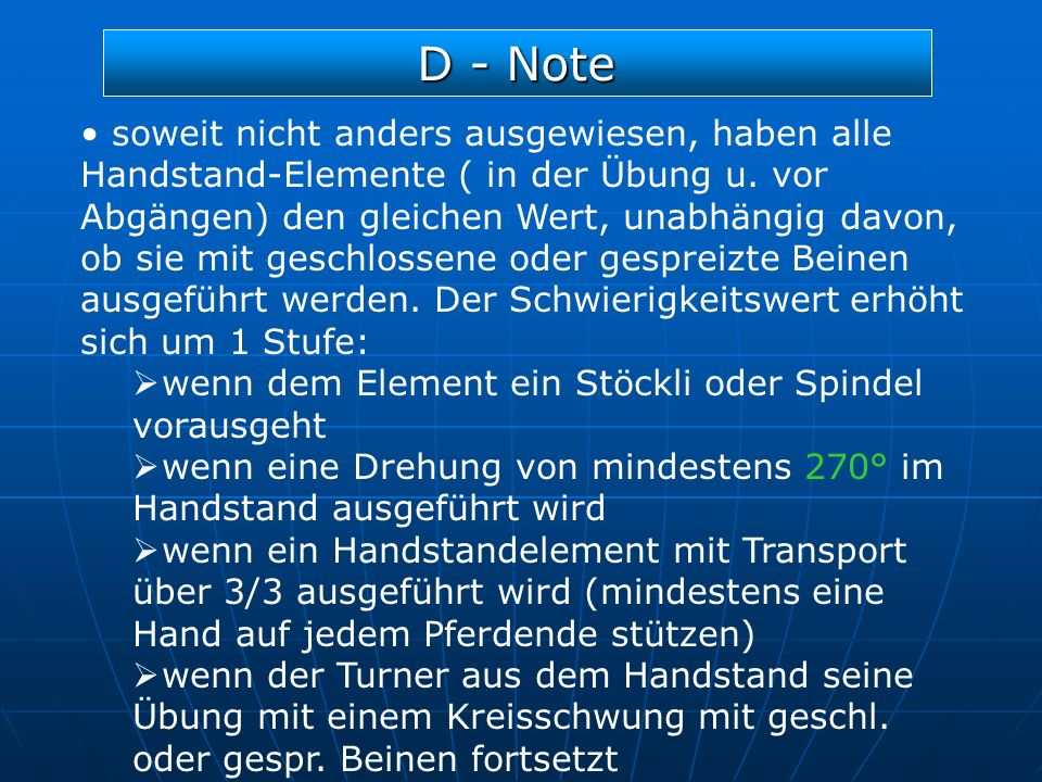 D - Note