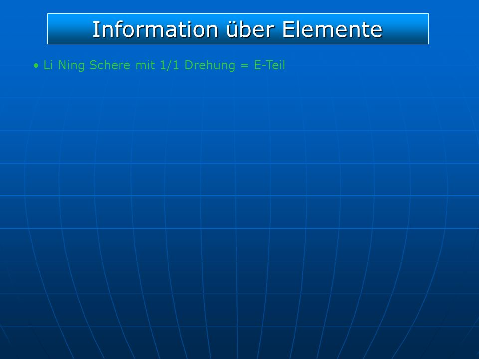 Information über Elemente