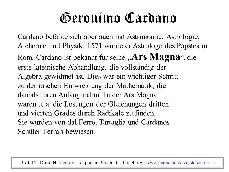 Geronimo Cardano