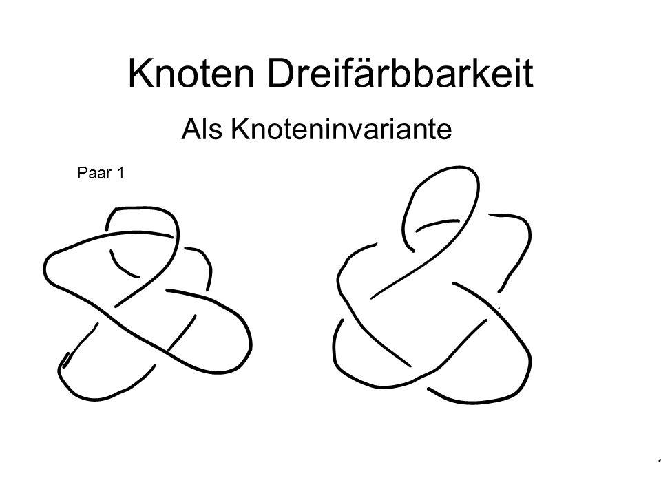 Knoten Dreifärbbarkeit