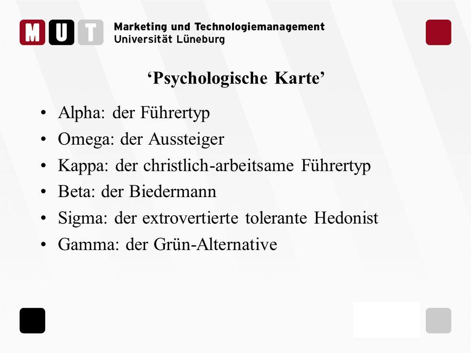 'Psychologische Karte'