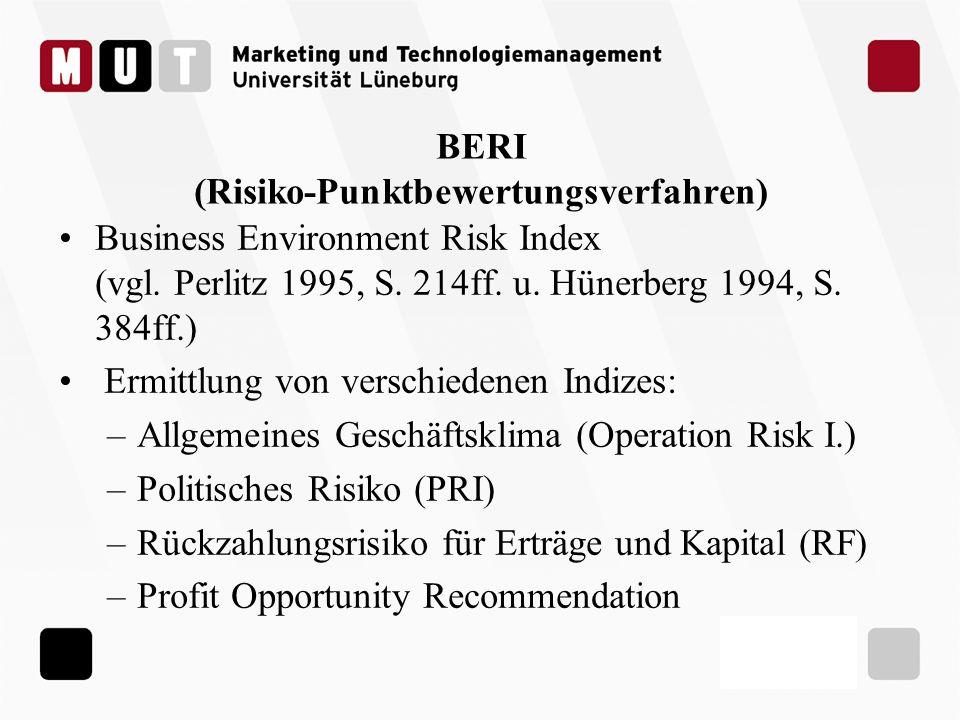 BERI (Risiko-Punktbewertungsverfahren)