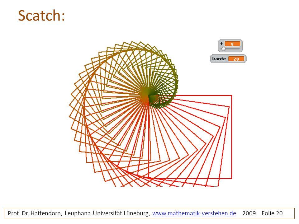 Scatch: rosette2. Prof. Dr.
