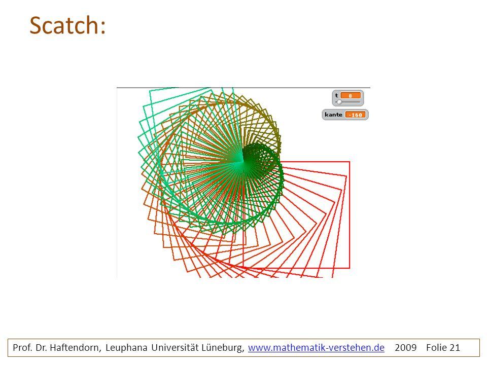 Scatch: rosette2c. Prof. Dr.