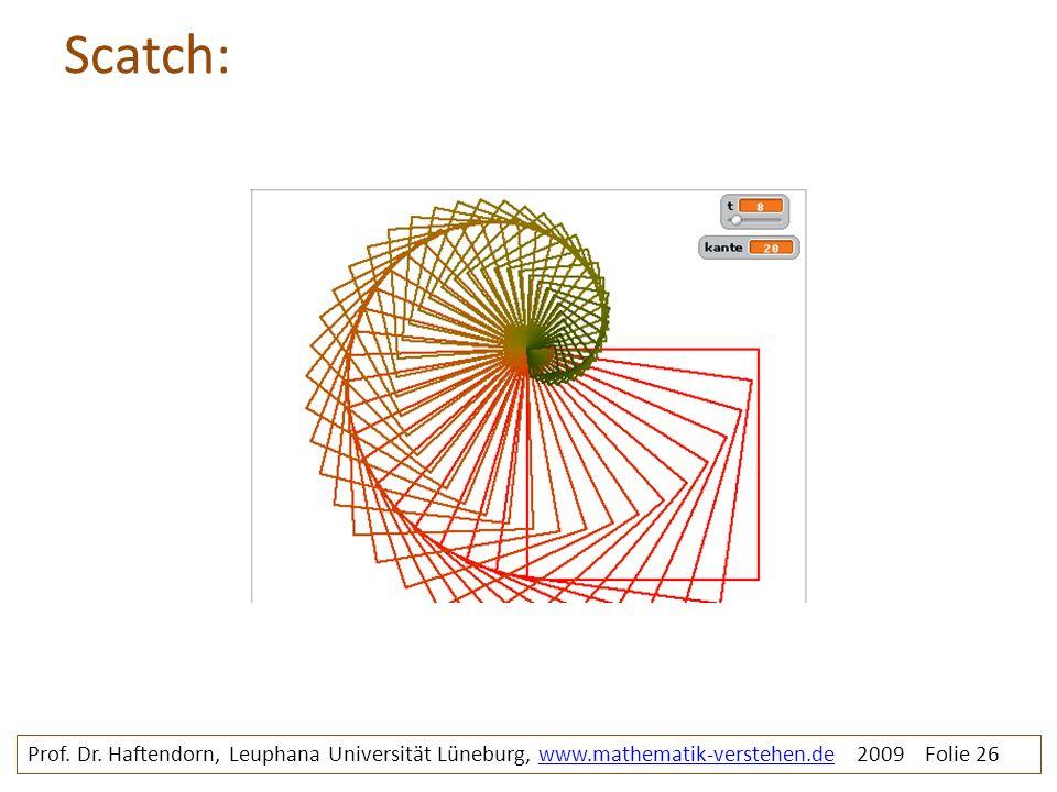 Scatch: rosette2b. Prof. Dr.