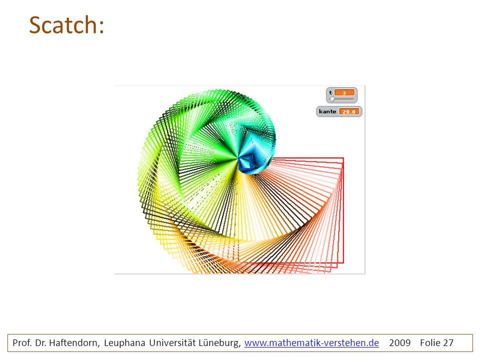 Scatch: Spiralebuntquad. Prof. Dr.