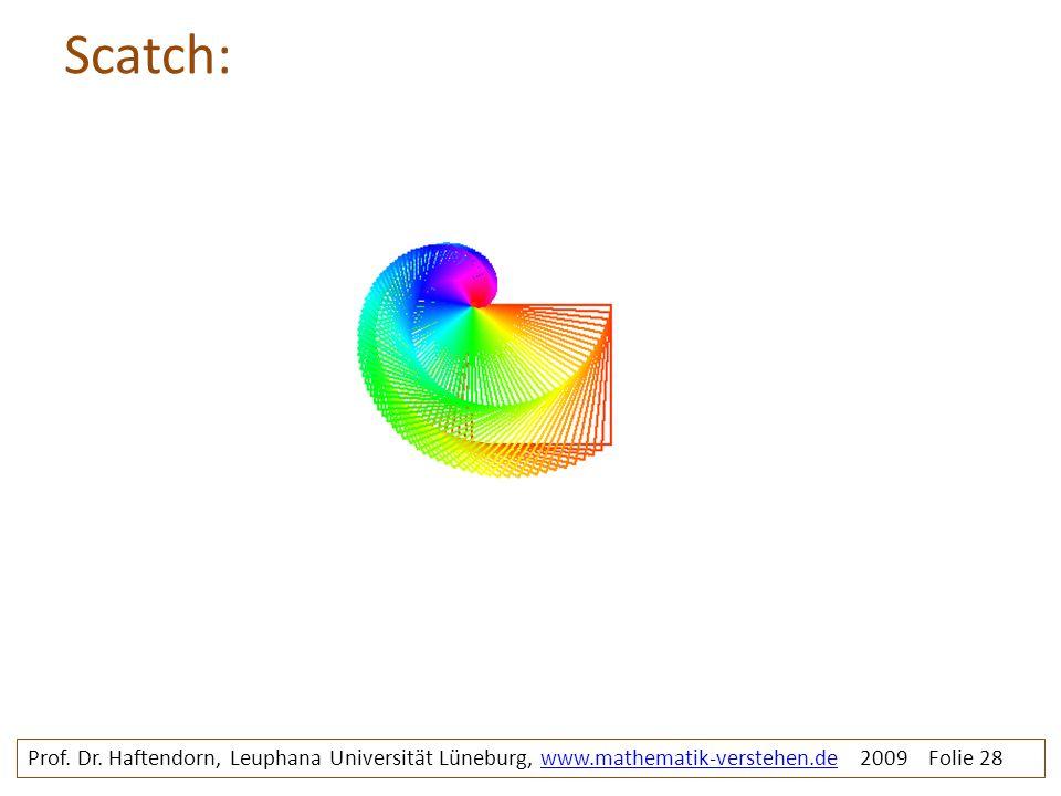 Scatch: rosette1bunt. Prof. Dr.