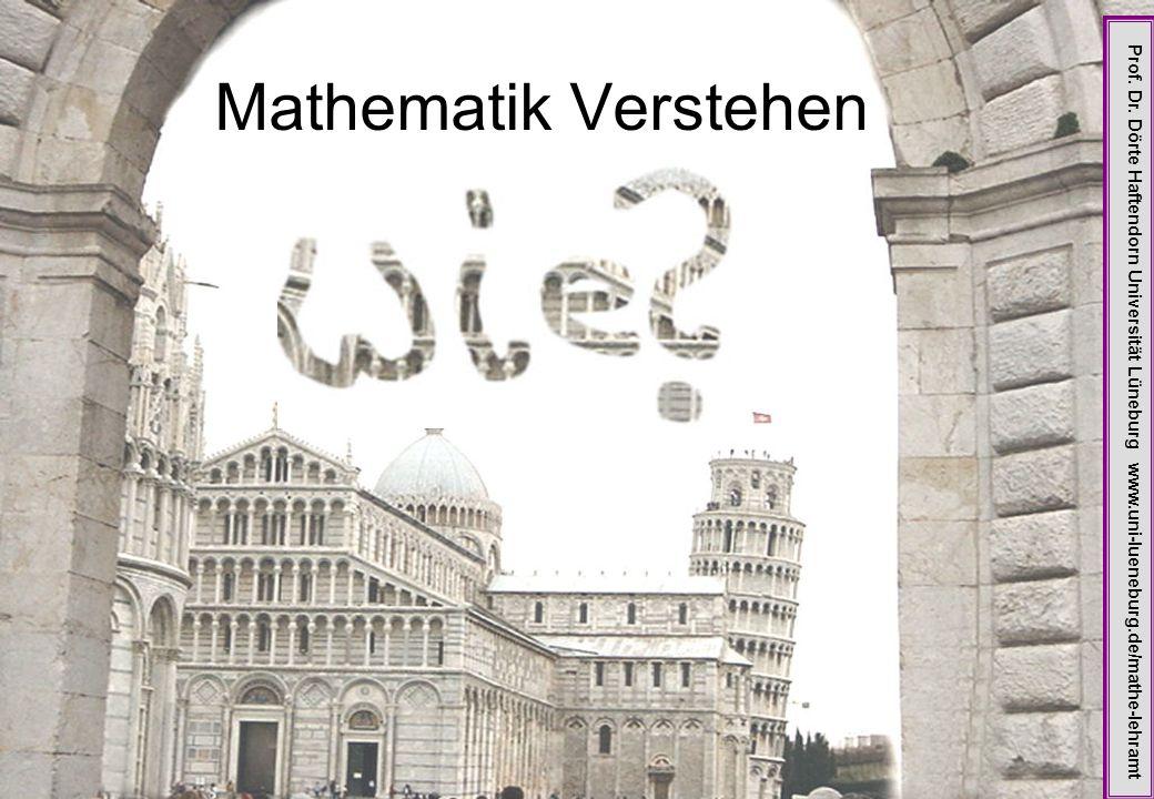 Mathematik Verstehen Prof. Dr.