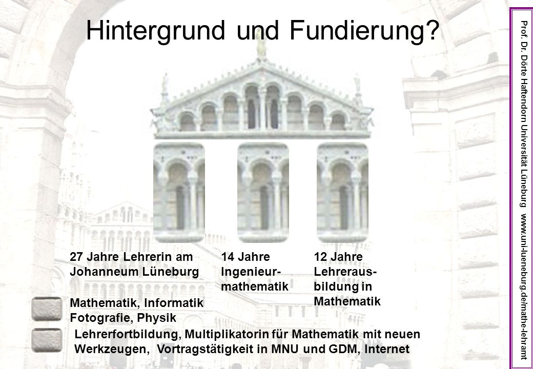 Hintergrund und Fundierung