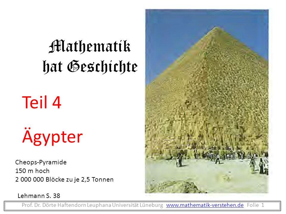 Mathematik hat Geschichte